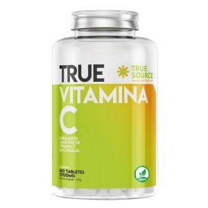 Vitamina C 60 Tabletes - True Source