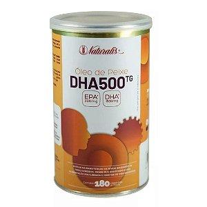 Ômega-3 DHA 500 (1000mg) 180 Cápsulas - Naturalis