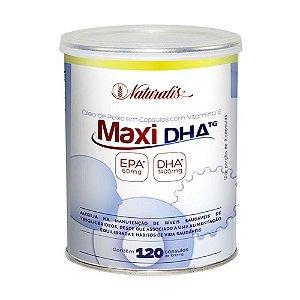 Maxi DHA 700 (1000mg) 120 Cápsulas - Naturalis