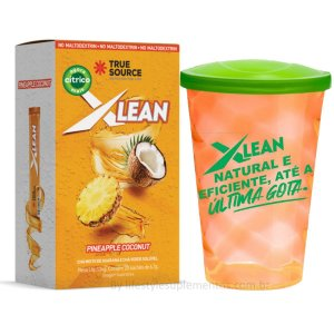 Xlean Pineaple Coconut (20 Sachês)- True Source