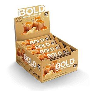 Bold Bar Caramelo & Amendoim 12 Unidades - Bold Snaks