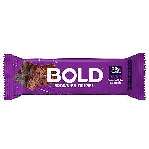 Bold Bar Brownie & Crispies - Bold Snaks