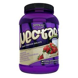 Nectar Naturals Whey Protein Isolado Morango 907g - Syntrax