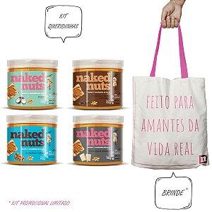 Kit 4 Pastas de Castanha de Caju 150g - Naked Nuts