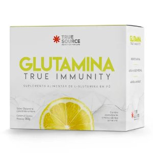 Glutamina True Immunity Limão Siciliano (30 Sachês) - True Source