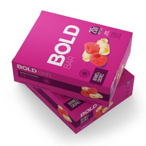Bold Bar Bombom Berries & Crispies 12 Unidades - Bold Snaks