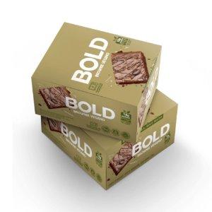 Bold Bar Vegana Brownie 12 Unidades - Bold Snacks