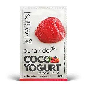 Coco Yogurt Frutas Vermelhas 30g - Pura Vida