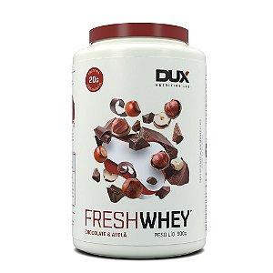 Fresh Whey Chocolate Belga e Avelã 900g - Dux Nutrition