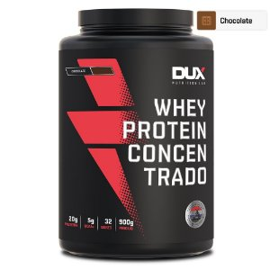 Whey Protein Concentrado Chocolate 900g - Dux Nutrition