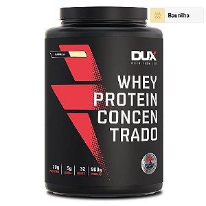 Whey Protein Concentrado Baunilha 900g - Dux Nutrition