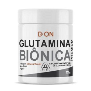 Glutamina Biônica 250g - B-ON