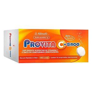 Vitamina C com Zinco Provita10 Pastilhas - Naturalis