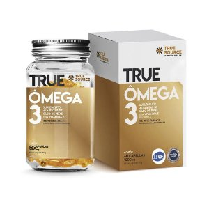 Ômega 3 True Com Vitamina E (60 Cápsulas) - True Source