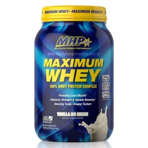 Maximum Whey Sorvete de Baunilha 915g - MHP