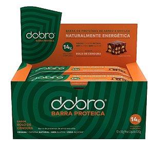 Barra de Proteína Bolo de Cenoura 10 Unidades - Dobro