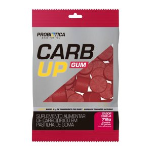 Carb Up Gum Cereja 72g (18 Gomas) - Probiotica