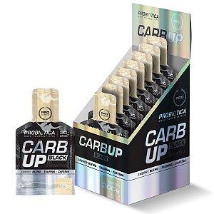 Carb Up Gel Black 10 Sachês Baunilha - Probiotica