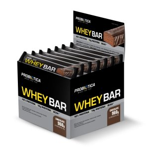 Whey Bar Chocolate 24 Unidades - Probiotica