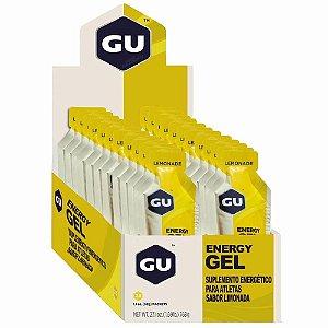 GU Energy Gel Limonada Caixa 24 Sachês - GU