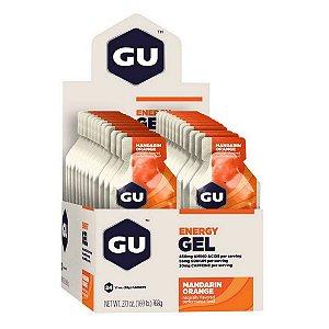 GU Energy Gel Laranja Caixa 24 Sachês - GU