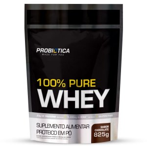 100% Pure Whey Refil 825g Chocolate - Probiotica