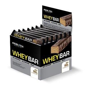 Whey Bar Coco 24 Unidades - Probiotica