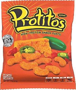 Protitos Snack Protein Sabor Nachos de Queijo 31g - Syntrax