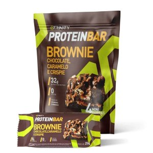 Protein Bar Brownie 4 Mini Barras - Trinity