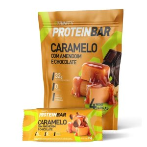 Protein Bar Caramelo 4 Mini Barras - Trinity
