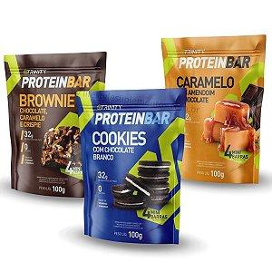 Kit 3 Packs Protein Bar Sabores Variados - Trinity