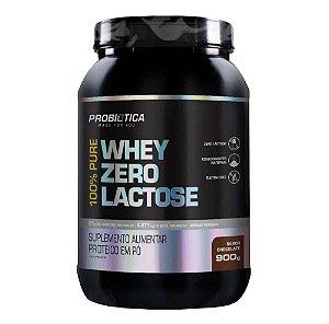 100% Pure Whey Zero Lactose Chocolate 900g - Probiótica