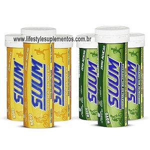 Kit 6 Tubos de Suum Isotônico - 3 Limão 3 Tangerina