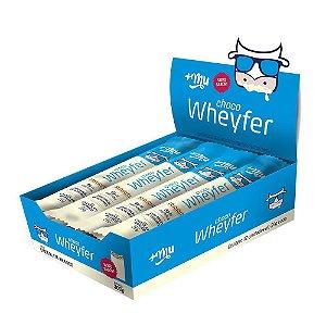 ChocoWheyfer Chocolate Branco 12 Unidades - Mais Mu