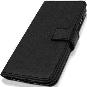 Capa carteira cor preta para celular Samsung S9
