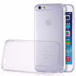 Capinha Para Iphone 6s Plus - Flexivel Transparente
