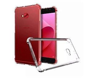 Capa de silicone anti-choque transparente para Zenfone 4 Selfie ZD553KL