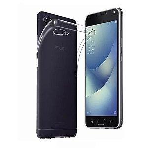 Capa de silicone transparente para Zenfone 4 MAX ZC554KL