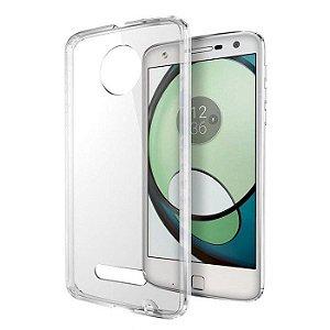 Capa de silicone transparente para Moto Z Play