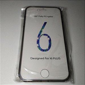Capa 360º Frente e Verso para iPhone 6 PLUS (5.5) - Grafite