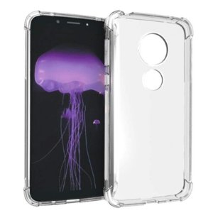 Capa (capinha) transparente para Moto G7 Play - Antichoque