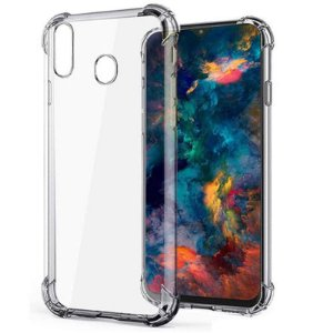 Capa (capinha) transparente para Samsung M20 Normal - Antichoque