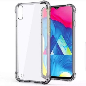Capa (capinha) transparente para Samsung M10 Normal - Antichoque