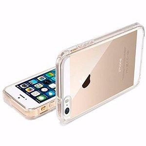 Capa (Capinha) em silicone transparente para iPhone 5G