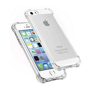 Capa (Capinha) em silicone transparente para iPhone 5G AntiShock