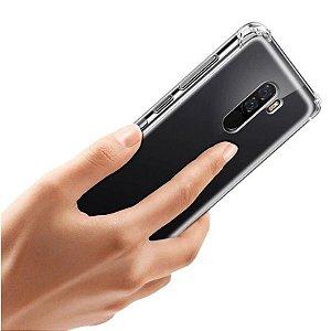 Capa (Capinha) em silicone transparente para Pocophone F1 MIFI - Antishock
