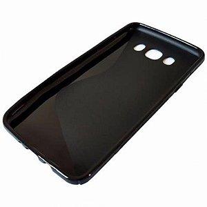 Capa (Capinha) em silicone Fumê para Samsung J7 DUO 5.5 SM-J720M