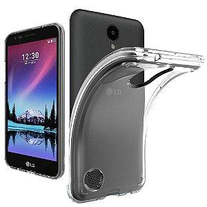 Capa (Capinha) em silicone transparente para  LG K4 2017 (K4 NOVO)
