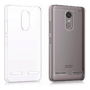 Capa (Capinha) em silicone transparente para LG K6+ K6 PLUS