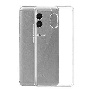 Capa (Capinha) em silicone transparente para Meizu M6 NORMAL